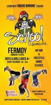 School Dismissed Hip Hop Dance Classes
