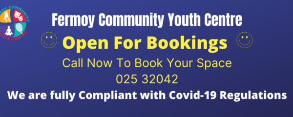 Open Again for Bookings!
