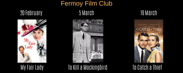 Fermoy Film Club Upcoming Shows
