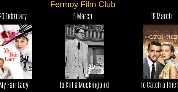 Fermoy Film Club Upcoming Shows