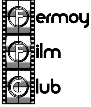 Fermoy Film club Logo Black and White
