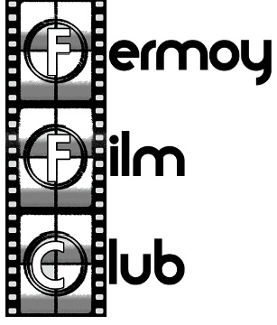 Fermoy Film club Logo Black and White