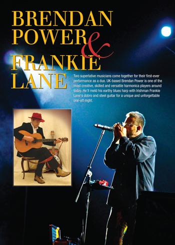 Brendan Power and Frankie Lane