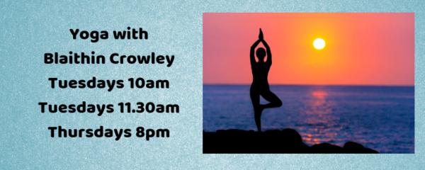 Yoga with Blaithin Crowley