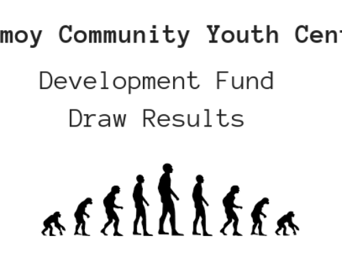 Development Fund Draw Results 26 February 2020