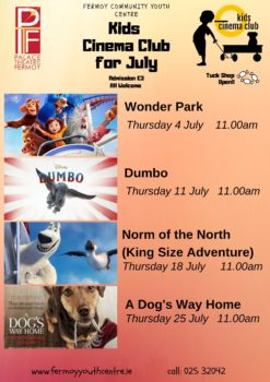 kids cinema club july