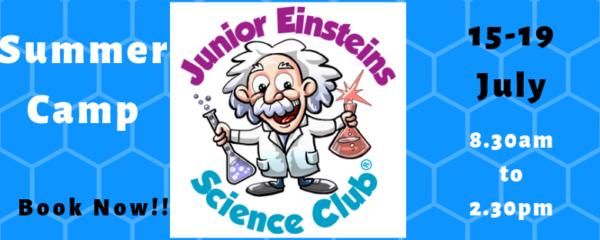Junior Einsteins Science Club Summer Camp