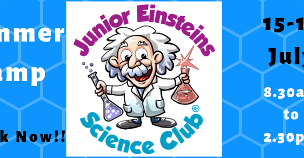 Junior Einsteins Science Club Summer Camp