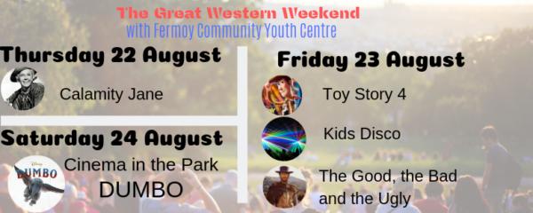 Announcing Great Western Weekend