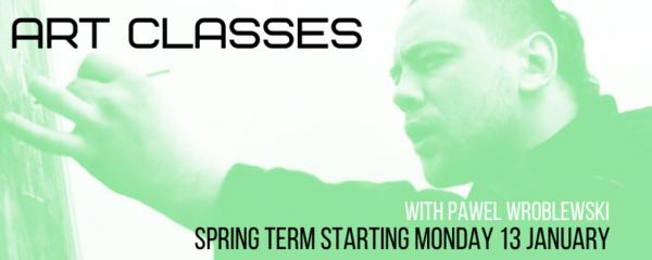 Art Classes Kids & Teens – Spring Term