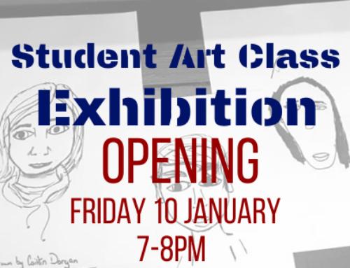 Student Art Class Exhibition