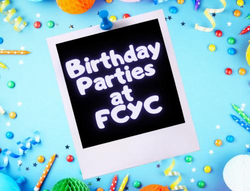 Birthday Parties at FCYC